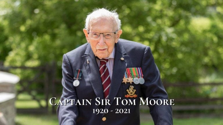 Captain Sir Tom Moore did so much more than just raise £38m for the NHS, he repr…