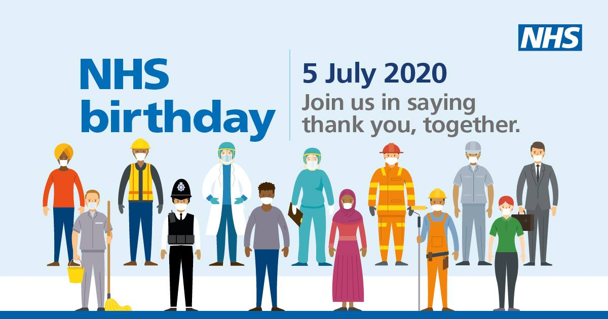 Happy 72nd Birthday to our incredible NHS  one of Britain's proudest achievement…