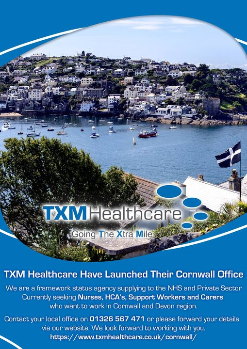 Read more about the article TXM Healthcare have launched their Cornwall office.  We are a framework status a…