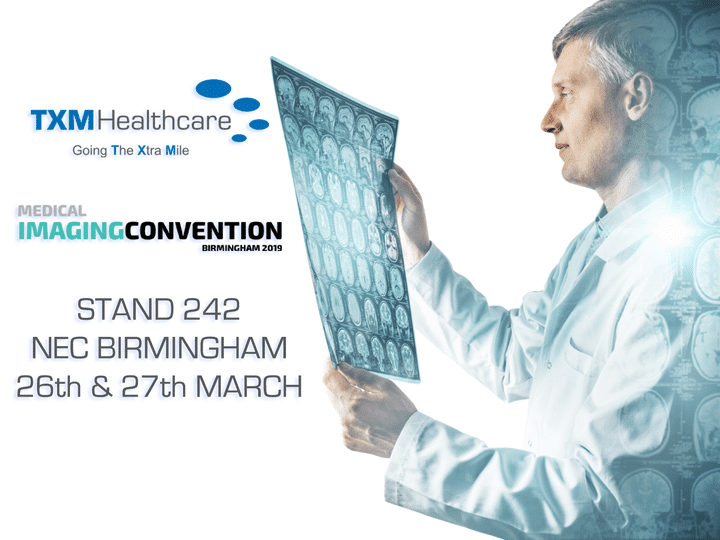 Read more about the article TXM Healthcare will be attending the European Imaging Convention at Birmingham N…