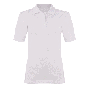 TXM Female Polo Shirt – White